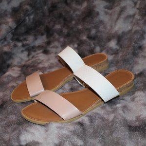 "Rampage ""Polly"" Slides Sandals 6.5M"